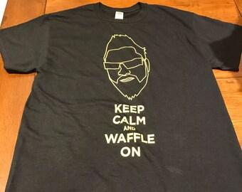 T-Shirts (Keep Calm & Waffle On) MEN