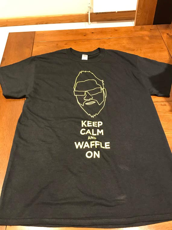 T-Shirts (Keep Calm & Waffle On) MEN