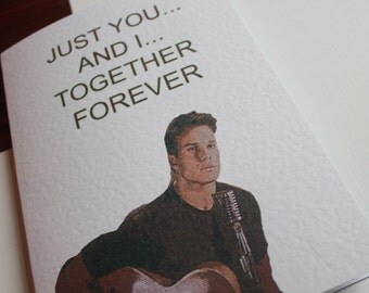 Twin Peaks James Just You And I Together Forever Love Birthday Card