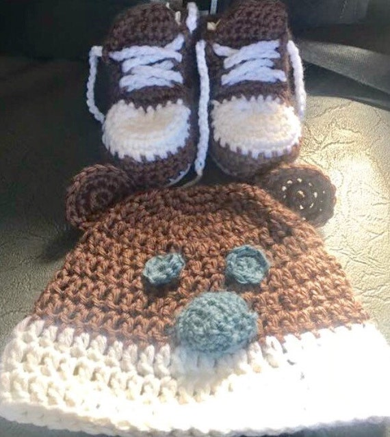 Teddy Bear Hat and Booties