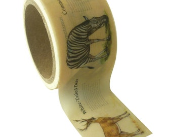 Animal tape Savannah - animal Masking Tape - Masking animal tape - tape - label Ribbon - Ribbon sticker