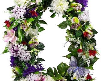 Mothers Day Wreath - Spring Wreath - Rose Wreath - Grapevine Wreath - Mothers Day Gift - Everyday Wreath - Floral Wreath