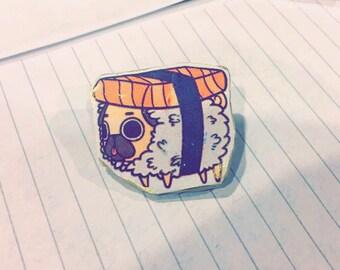 Sushi Dog Pin
