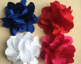 Taffeta Floral Brooch
