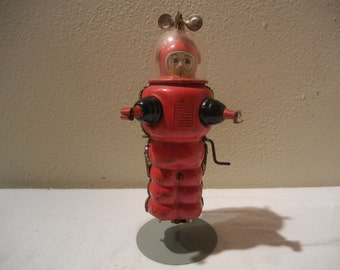 Vintage Toy Robot (Rare) Mechanical Astronaut  ***** 1950's-1960's******