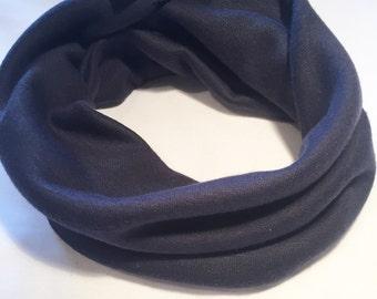 ON SALE Navy handmade snuggle snood