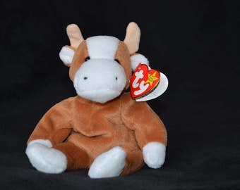 Bessie the TY Beanie Baby Cow