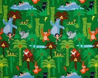 Springs Creative The Jungle Book Woven Cotton Fabric - By the Yard