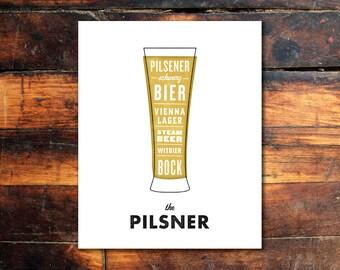 Beer Print - Pilsner