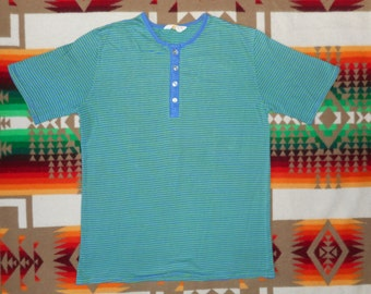 60s Brent Montgomery Ward Striped Shirt Size Small