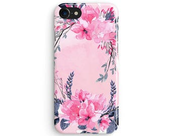 Floral madeline flowers - iPhone 7 case, Samsung Galaxy S7 case, iPhone 6, iPhone 7 plus, iPhone SE, iPhone 5S, 1C106A