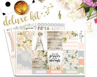 FOREVER and ALWAYS Planner Stickers for use with Erin Condren Life Planner/Wedding Weekly Planner Sticker Kit/Anniversary Sticker Set