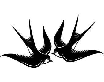 Swallow Logo Etsy