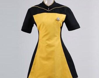 Star Trek TNG Skant Robe Cosplay Cosumes