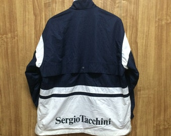 Sergio Tacchini Spell out vintage Windbreaker