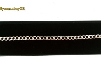 9ct gold bracelet. 9ct Gold Curb Chain. 375 gold bracelet