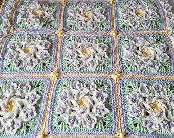 Tropical Delight Baby Blanket