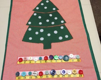 Countdown to Christmas Wall Hanging