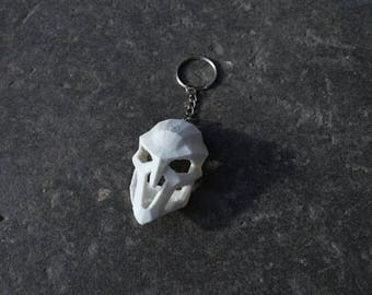Reaper Mask Keychain, Overwatch, 3D Printed