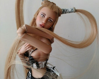 Bjd Ball Jointed Doll by Juliya Nechaeva - Аdel OOAK Doll