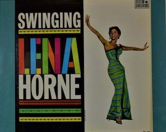 SLIDE-OUT DESIGNER Vinyl Record Frame Display with optional Lena Horne