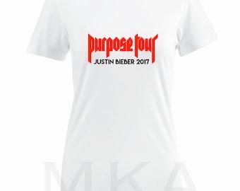 Justin Bieber Purpose Tour T-Shirt
