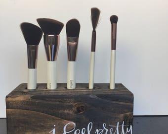 Vanity Brush Organizer