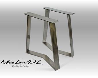 Pieds de table etsy for Pied en metal pour table