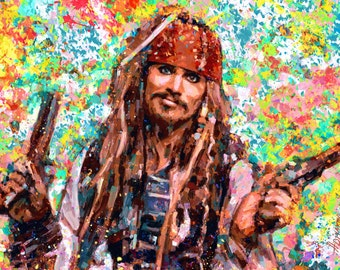 Portrait Johnny Depp dream by ILIA ADIYAKOV