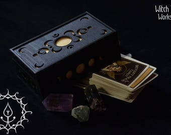 Deviant moon Tarot box
