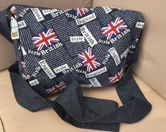Messenger Bag, satchell, over the shoulder bag, school bag