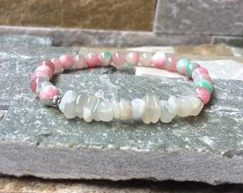 Empathy jade Moonstone bracelet balance