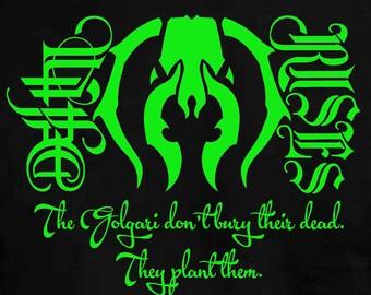 Magic the Gathering Golgari Death Rises T-Shirt