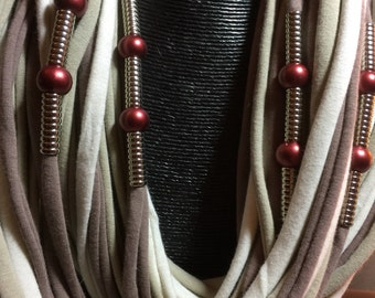 Long Designer spaghetti scarf