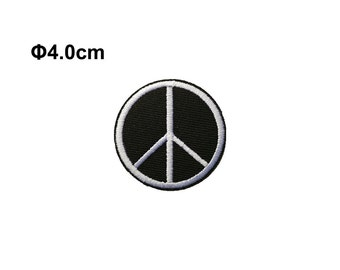 Peace patch, Peace sign patch, Embroidery patches, Embroidered patch, iron on patch, sew on patch, WS-56