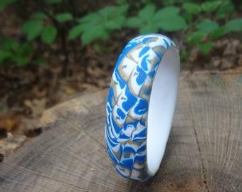 Hand made. Hand made bracelet. Polymer clay. Polymer clay bracelet.