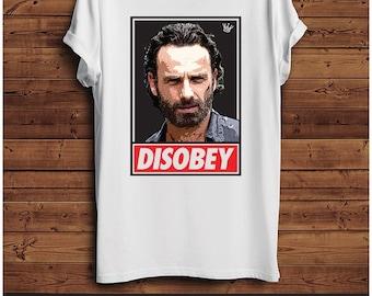 Rick Grimes Disobey T Shirt