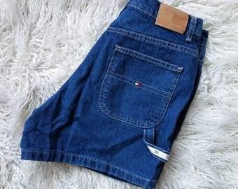 Tommy Hilfiger Vintage Shorts Size 10 Carpenter Shorts