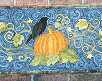 In the Pumpkin Patch Rug Pattern