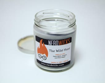The Wild Hunt - Lady Midnight Inspired Soy Candle - Juniper and Sea Breeze Scent