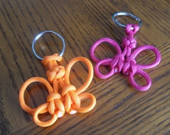 Butterfly Paracord Keychains