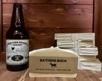 West Coast IPA Goat Milk Soap