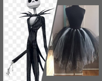 Disney Jack Skellington inspired tutu