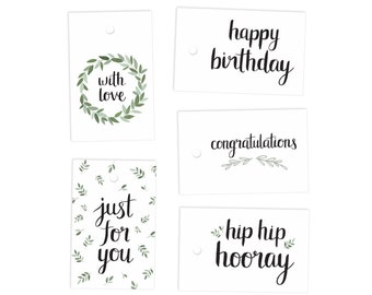 Gift Tags - 10 pack