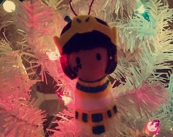 Pharah Overwatch Winter Wonderland Ornament/Charm