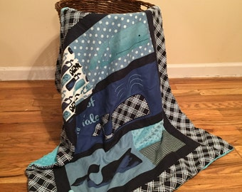 Baby Whale blanket