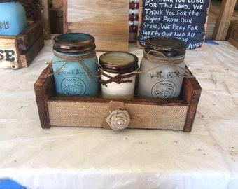 Mason Jar Baskets (Priced Individually)