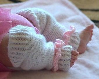 Baby Leg Warmers Knitting PATTERN Size 0-2 years