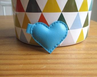 Mini blue heart