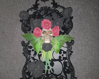 Gothic inspired picture frame